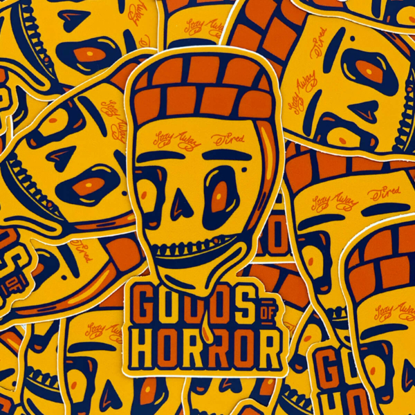 Goods of Horror Posty premium sticker