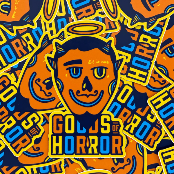 Goods of Horror Evil is Real premium sticker